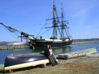 """Friendship"" (the ship) @ Salem - Junto al Barco ""Friendship"" en Salem"